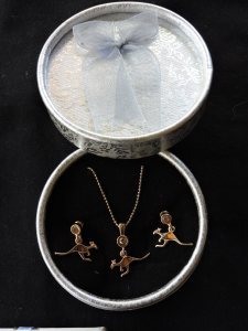 Kangaroo Jewellery $22.95 per set in a gift box