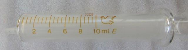 10ml Glass Syringe